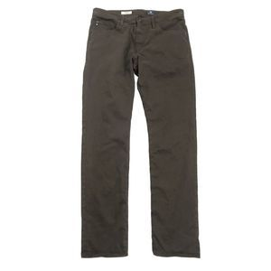 AG Brown Tailored Leg Jeans 34x34